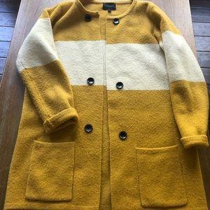 Anthropologie La Fee Verte Color Block Sweater